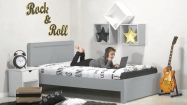 מגניב מיטה וחצי מעץ מלא דגם ''דור'' - עצמל'ה RQ-05