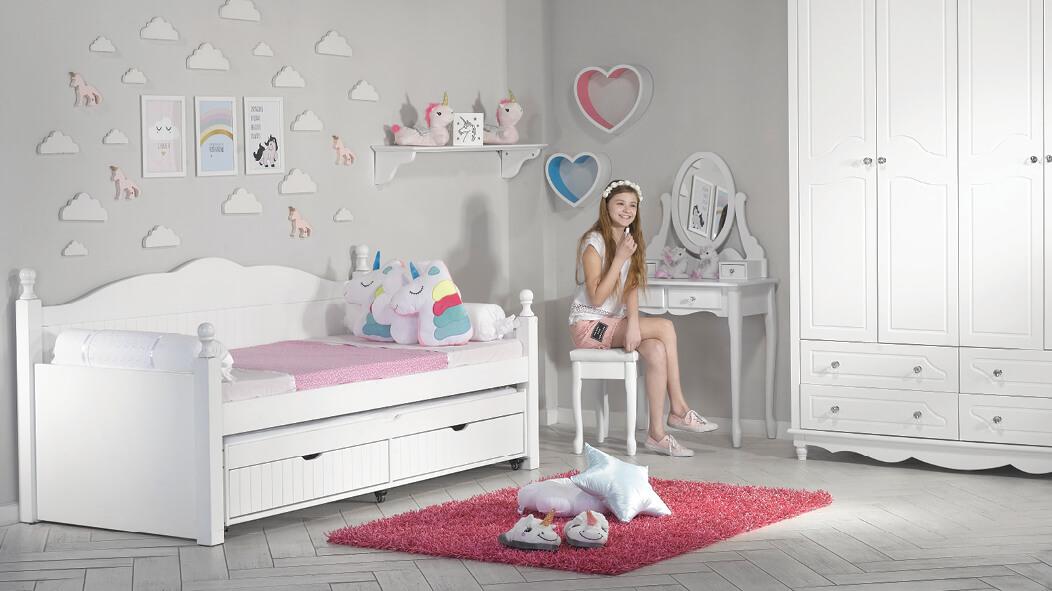 עדכון מעודכן חדרי ילדים | חדר ילדים מעוצב ''לירון'' | עצמל'ה רהיטים לילדים ולנוער DJ-02
