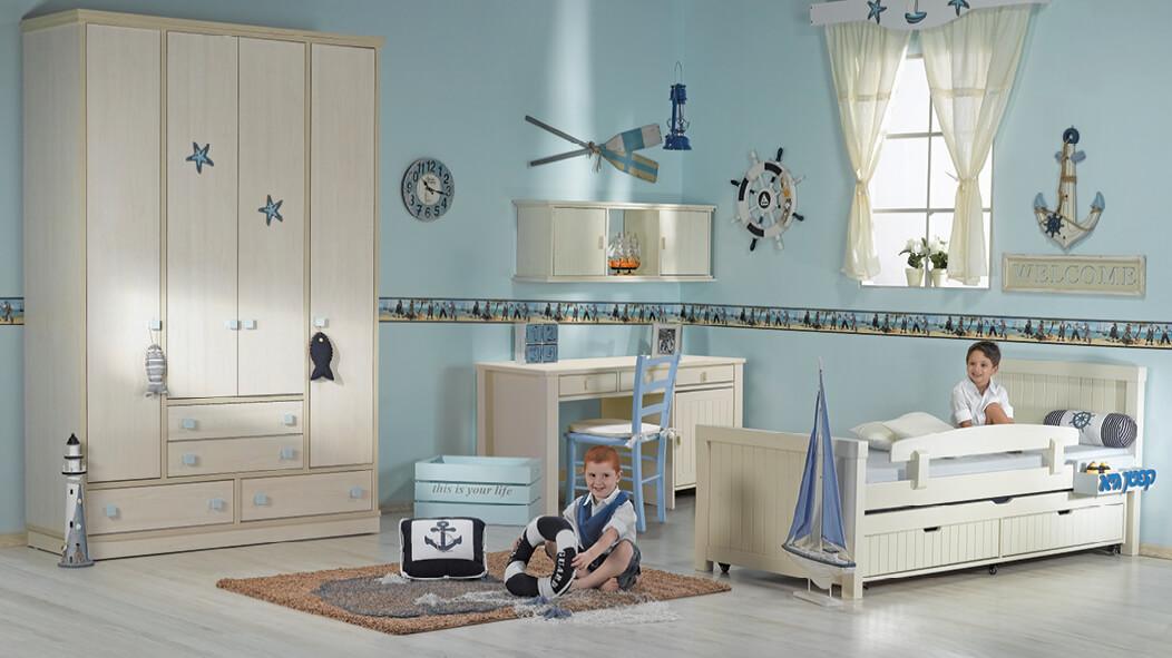 פנטסטי חדרי ילדים | חדר ילדים מעוצב ''שחר'' | עצמל'ה רהיטים לילדים ולנוער NT-89