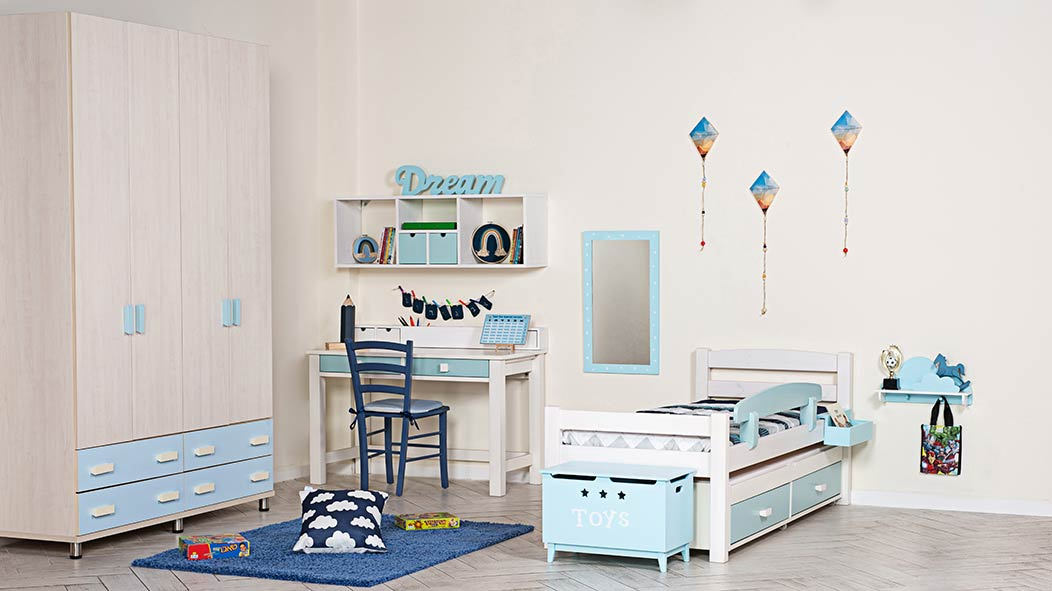 מגה וברק חדרי ילדים מעוצבים לבנים ולבנות - עצמל'ה LD-51