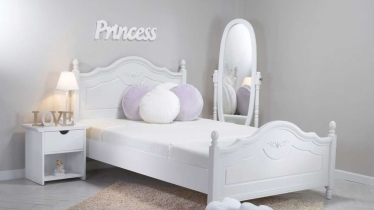כולם חדשים מיטות ילדים ונוער מעץ מלא   מיטת נוער נפתחת, מעבר ועוד - עצמל'ה TJ-06