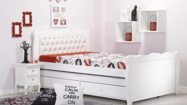 ברצינות מיטה וחצי נפתחת דגם ''גלי קפיטונאז'' - עצמל'ה רהיטים לילדים ולנוער MI-21