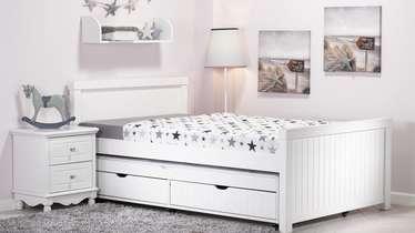 טוב מאוד מיטה וחצי נפתחת עם מגירות דגם ''שחר'' - עצמל'ה רהיטים לילדים ולנוער OG-86